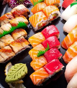Кафе и рестораны Скидка 40% на суши с 16.00 до 18.00 До 31 мая