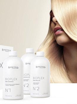 Скидка 15% на процедуру восстановления волос на базе BIOPLEX + уход для окрашенных волос по кодовому слову «Relax»