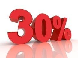 Скидка 30% на основное меню по будням