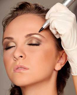 Акция «Предновогодние акции на перманентный макияж и микроблейдинг»