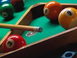 Акция «Игра на бильярде—бесплатно»