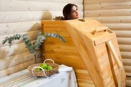 Акция «SPA-Relax: кедровая бочка + массаж 30 минут – 40 руб.»