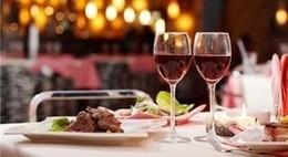 Акция «Романтический ужин со скидкой 14%»