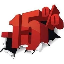 Скидка 15% при аренде от 2-х суток