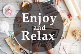 Скидка 10% по кодовой фразе Enjoy and Relax