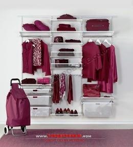 Скидка 25% на системы для гардеробных комнат