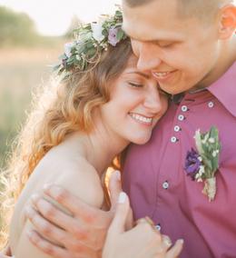 Акция «Бесплатный отдых на сутки в будний день в усадьбе Sun house для молодожёнов, при проведении свадьбы в усадьбе Green house»