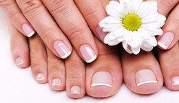 Красота и здоровье Акция «Маникюр  + долговременное покрытие ногтей + педикюр  всего за 40 руб» До 31 декабря