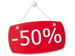 Скидка в кафе 50%