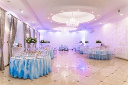 Акция «Декор зала в подарок при проведении свадьбы в усадьбе Голд»
