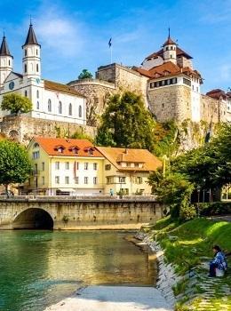 Туризм и отдых Скидка 43,00 руб. на тур в Швейцарию До 25 марта