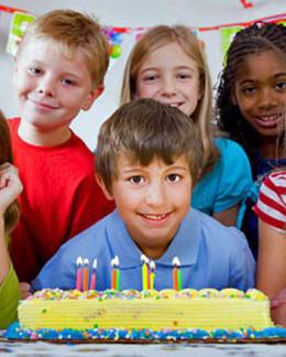Скидка 10% на детский праздник