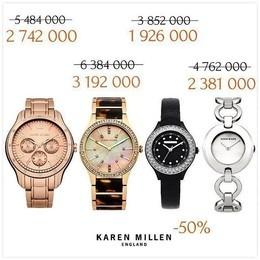 Скидка до 50% на часы известной английской fashion марки