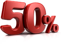 Акция «Соберите 5 наклеек и получи скидку 50% на 6-ой заказ»