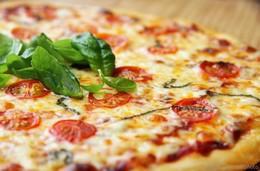 Акция «Пицца «Маргарита» в подарок при заказе двух пицц»