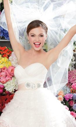 Скидка 15 % невестам при комплексном обслуживании в салоне