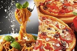 Кафе и рестораны Скидка 50% на пиццы и пасты с 12.00 до 18.00 До 4 мая