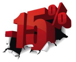 Скидка 15% на отдых в санатории