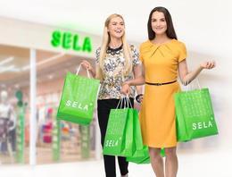Скидки до 40% в магазине одежды «Sela»