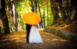 Скидка 15% на осенние свадьбы