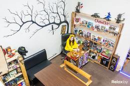 Акция «Покупателям магазина – посещение анимешного анти-кафе «Ведьмин котелок ещё дешевле»