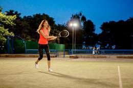 Скидка 35% (104 BYN) на ночные занятия 22.30+ по теннису
