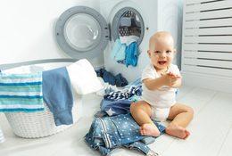 Скидка 50% на химчистку детской одежды