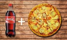Акция для студентов «Пицца + напиток в подарок»