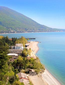 Скидка на отдых на море в Абхазии при бронировании до 30 апреля