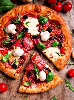 Скидка 15% на пиццу при заказе на вынос