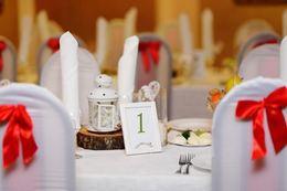 Кафе и рестораны Акция «При заказе свадебного банкета – молодожёнам номер в подарок» До 21 июля
