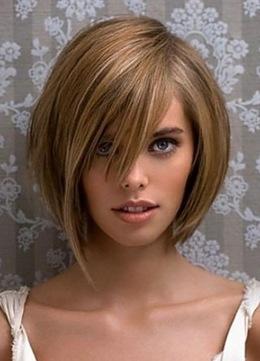 Модельная женская стрижка + экранирование волос со скидкой 50%