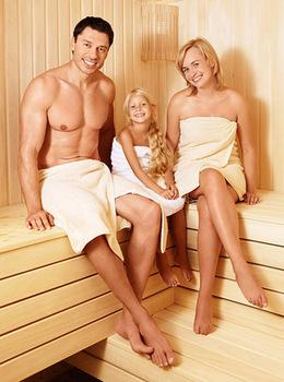 Скидка 10% на посещение бани с детьми