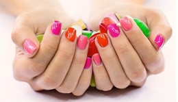 Скидки на уходовую косметику и лаки для ногтей