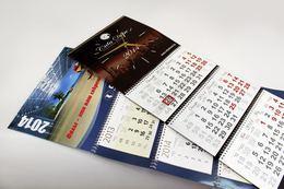 Акция «Квартальные календари с одним рекламным полем 100 шт. по 30 000 руб.»