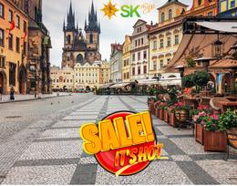 Акция на тур «Прага и венский кофе»