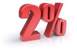 Скидка 2% на последующие туры