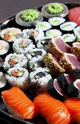Кафе и рестораны Скидка 20% на суши по кодовому слову Relax До 31 августа