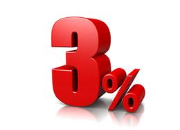 Скидка 3% по кодовой фразе