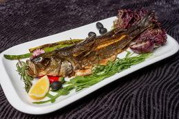 Скидка 50% каждую среду на все блюда из рыбы