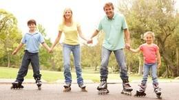 Акция «Мама, папа, я – спортивная семья!»
