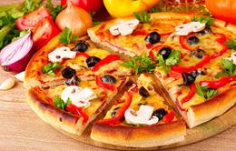 Скидка на пиццу в субботу и воскресенье с 08.00 до 16.00