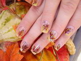 Скидка 15% на весь ногтевой сервис по кодовому слову «Золотая осень»
