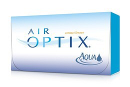 Скидка 18% на линзы при покупке упаковкой (6 линз) Air Optix Aqua (Alcon)