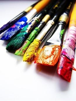 Скидки до 7% на художественные товары