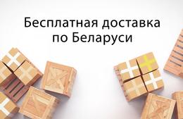 Акция «Бесплатная доставка по Беларуси при заказе от 100 BYN»