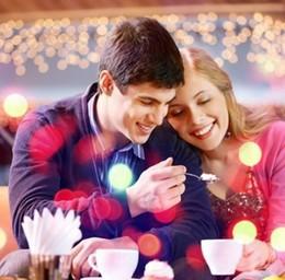 Скидка 20% для влюблённых пар на заказное и банкетное меню кухни