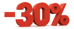 Cкидка 30% при заказе еды на вынос