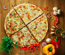 Акция «Большие пиццы по маленькой цене»