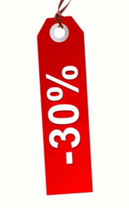 Скидка 30% на курсы и программы